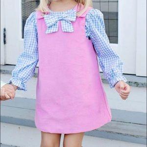 The Beaufort Bonnet Company Dresses - The Beaufort Bonnet Company pink corduroy jumper
